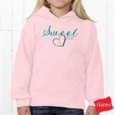 Big/Mid/Lil Sibling Personalized Youth Hooded Sweatshirt - 15406-YHS