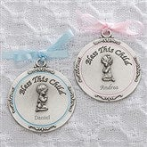 First Communion Personalized Medallion- Girl - 15407-P