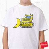 Construction Trucks Personalized Hanes® Youth T-Shirt - 15412-YCT