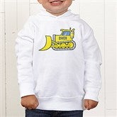 Construction Trucks Personalized Toddler Hooded Sweatshirt - 15412-CTHS