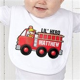 Jr. Firefighter Personalized Bib - 15413-B