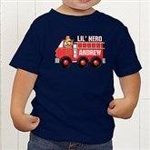 Jr. Firefighter Personalized Toddler T-Shirt - 15413-TT
