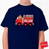 Jr. Firefighter Personalized Hanes® Youth T-Shirt - 15413-YCT