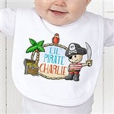 Lil' Pirate Personalized Bib - 15415-B