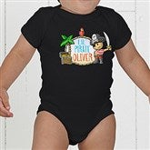 Lil' Pirate Personalized Baby Bodysuit - 15415-CBB