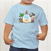 Lil' Pirate Personalized Toddler T-Shirt - 15415-TT