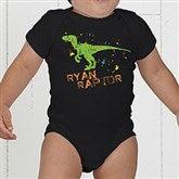 Dinosaur Personalized Baby Bodysuit - 15416-CBB