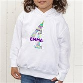 It's My Birthday Personalized Toddler Hooded Sweatshirt - 15426-CTHS