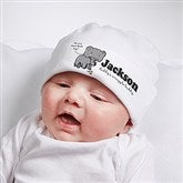 Lovable Elephant Personalized Hat - 15427-H