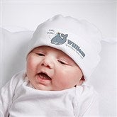 Lovable Whale Personalized Hat - 15428-H