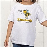 Lovable Bee Personalized Toddler T-Shirt - 15431-TT