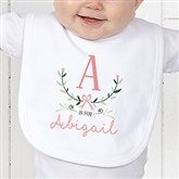 Girly Chic Personalized Bib - 15435-B