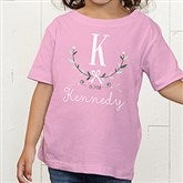 Girly Chic Personalized Toddler T-Shirt - 15435-TT