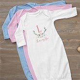 Girly Chic Personalized Baby Gown - 15435-G