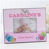 Bunny Love Personalized Easter Picture Frame - 15440