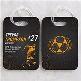 Sports Enthusiast Personalized Luggage Tag Set - 15442
