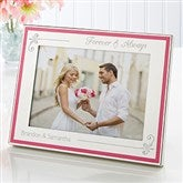 Forever & Always Engraved Passionately Pink Frame - 15457