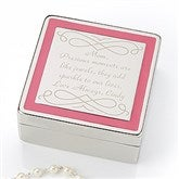 Enchanting Mother Engraved Jewelry Box - 15460