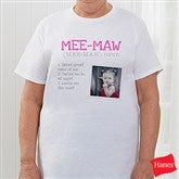 Definition Of Her Personalized Hanes® T-Shirt - 15461-T