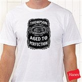 Whiskey Label Personalized Hanes® T-Shirt - 15464-T