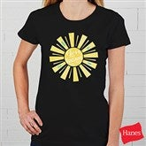 You Are My Sunshine Personalized Ladies Fitted Tee - 15470-FT
