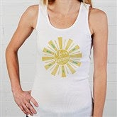 You Are My Sunshine Personalized White Tank - 15470-WT