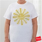 You Are My Sunshine Personalized Hanes® T-Shirt - 15470-T