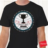 Grandpa's Fan Favorite Personalized Hanes® T-Shirt - 15471-T