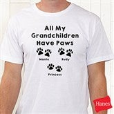 Love For Pets Personalized Hanes® T-Shirt - 15472-T