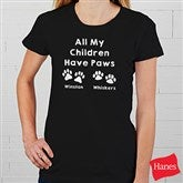 Love For Pets Personalized Ladies Fitted Tee - 15472-FT