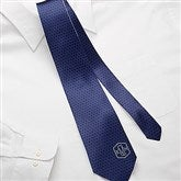 Classic Monogram Personalized Men's Tie - 15486
