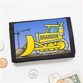 Construction Truck Personalized Wallet - 15487