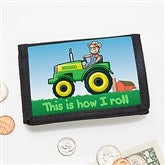 Tractor Time Personalized Wallet - 15489