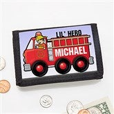 Jr. Firefighter Personalized Wallet - 15490