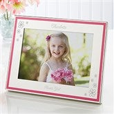 My Flower Girl Personalized Pink & Polished Frame - 15514