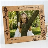 First Communion Personalized Picture Frame- 8 x 10 - 15547-L