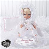 Precious Moments Personalized Christening Doll-Blonde - 15552-BL