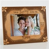 Lucky To Call You... Personalized Frame- 5 x 7 - 15560-M