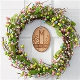Personalized Spring Berry Wreath