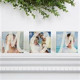 MOM Personalized Photo Shelf Blocks- Set of 3 - 15566