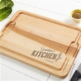 Her Kitchen Personalized Extra Large Cutting Board-15x21 - 15569-XL