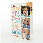 Hugs & Kisses Personalized Greeting Card - 15583