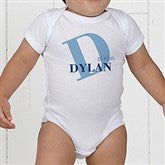 Alphabet Fun Personalized Baby Bodysuit - 15592-CBB
