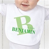 Alphabet Fun Personalized Infant Bib - 15592-B