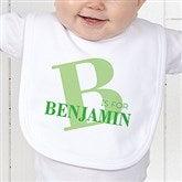 Alphabet Fun Personalized Infant Bib - 15592-B