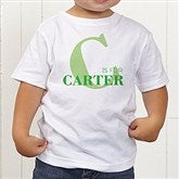 Alphabet Fun Personalized Toddler T-Shirt - 15592-TT
