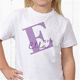 Alphabet Fun Personalized Hanes® Youth T-Shirt - 15592-YCT