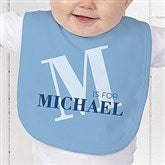 Alphabet Fun Personalized Baby Bib - 15592-B