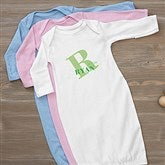 Alphabet Fun Personalized Baby Gown - 15592-G