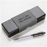 Signature Series Personalized IT Pen Case and Stylus Pen Set - 15613